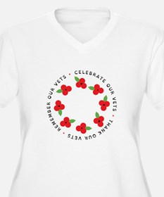 Celebrate our vets Plus Size T-Shirt