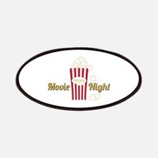 Movie Night Popcorn Patches