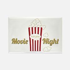 Movie Night Popcorn Magnets