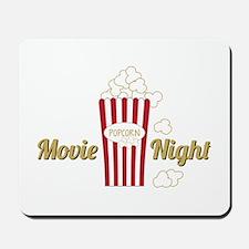 Movie Night Popcorn Mousepad
