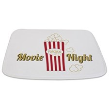 Movie Night Popcorn Bathmat