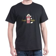 Movie Night Popcorn T-Shirt