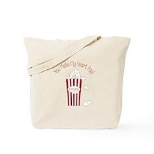 My Heart Pop Tote Bag