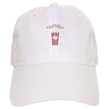Butter and Popcorn Baseball Baseball Cap