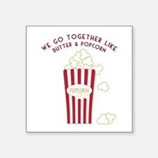 Butter and Popcorn Sticker