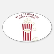 Butter and Popcorn Decal