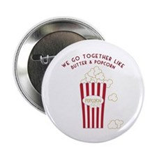"Butter and Popcorn 2.25"" Button (10 pack)"