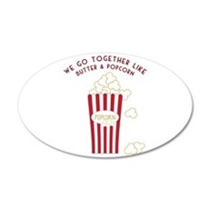 Butter and Popcorn Wall Decal