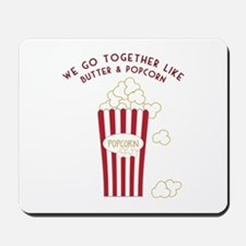 Butter and Popcorn Mousepad