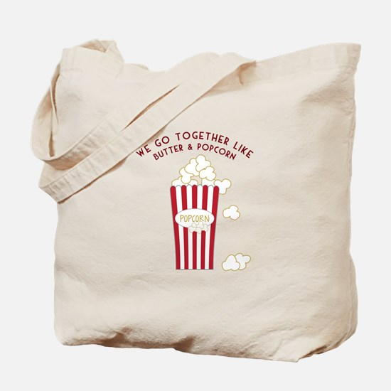 Butter and Popcorn Tote Bag