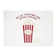 Butter and Popcorn 5'x7'Area Rug