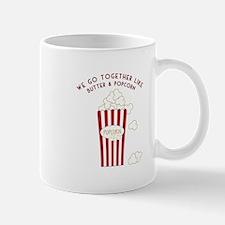 Butter and Popcorn Mugs