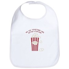 Butter and Popcorn Bib