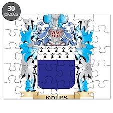 Koles Coat of Arms - Family Crest Puzzle