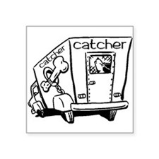 Dog Catcher Sticker