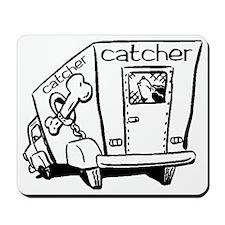 Dog Catcher Mousepad