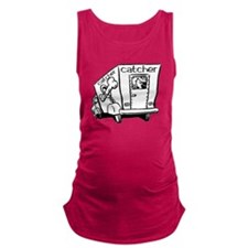 Dog Catcher Maternity Tank Top