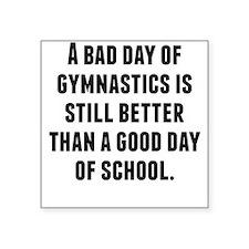 A Bad Day Of Gymnastics Sticker