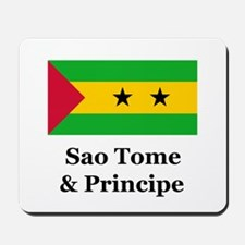 Sao Tome and Principe Mousepad
