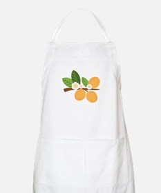 Apricot Blossom Fruit Tree Branch Apron