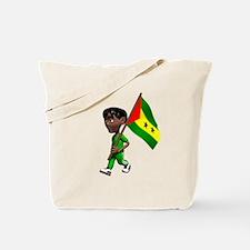 Sao Tome and Principe Boy Tote Bag