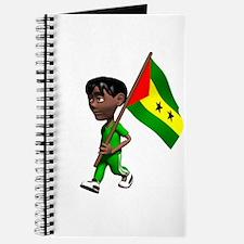 Sao Tome and Principe Boy Journal