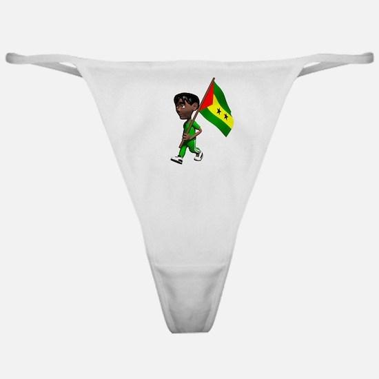 Sao Tome and Principe Boy Classic Thong