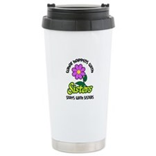 WHAT HAPPENS WITH SISTERS Travel Mug
