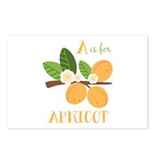 A Is For Apricot Postcards (Package of 8)