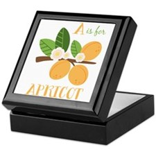 A Is For Apricot Keepsake Box