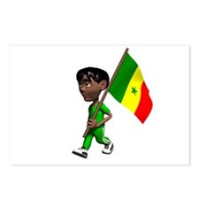 Senegal Boy Postcards (Package of 8)