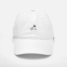 HUMMINGBIRD AND FLOWERS Baseball Baseball Baseball Cap
