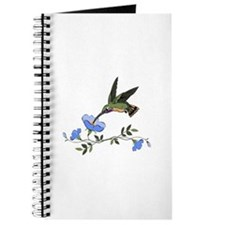 HUMMINGBIRD AND FLOWERS Journal