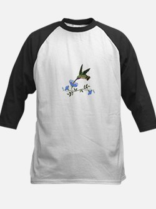 HUMMINGBIRD AND FLOWERS Baseball Jersey