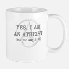 Yes I Am An Atheist Mugs