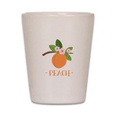 Peach Shot Glass