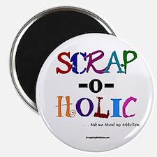 Scrap-O-Holic Magnet
