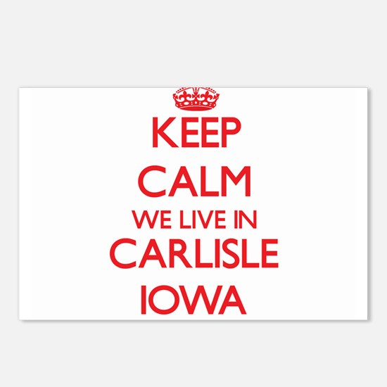 Keep calm we live in Carl Postcards (Package of 8)