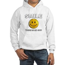 Smile, There Is No God Hoodie