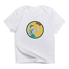 Plasterer Masonry Trowel Circle Cartoon Infant T-S
