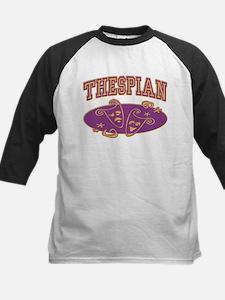 Thespian Drama Mask Sporty Kids Baseball Jersey