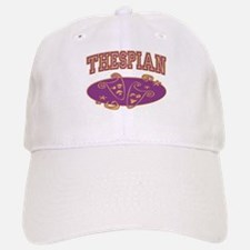 Thespian Drama Mask Sporty Baseball Baseball Cap