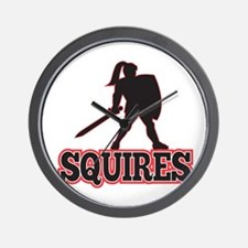 Knight Silhouette Squires Sword Shield Cartoon Wal