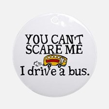 Bus Driver Ornament (Round)