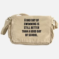 A Bad Day Of Swimming Messenger Bag