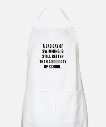 A Bad Day Of Swimming Apron