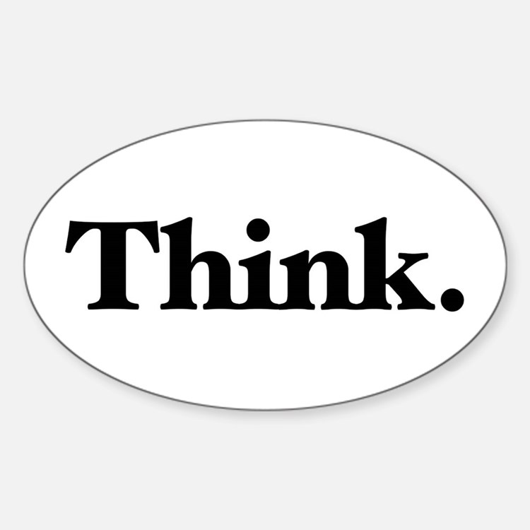 Think Decal