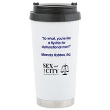 DYSFUNCTIONAL MEN Travel Mug