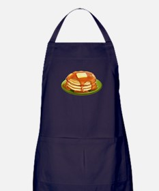 Stack of Pancakes Apron (dark)