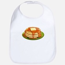Stack of Pancakes Bib